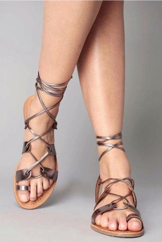 Stylish and Comfy Strappy Sandals picture 4