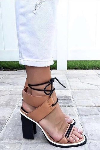 Trendy Strappy Heel Sandals picture 5