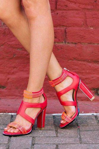 Trendy Strappy Heel Sandals picture 2