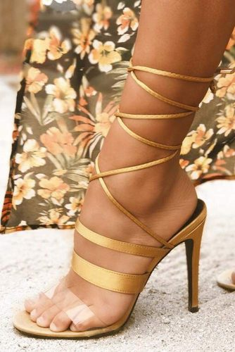 Trendy Strappy Heel Sandals picture 6