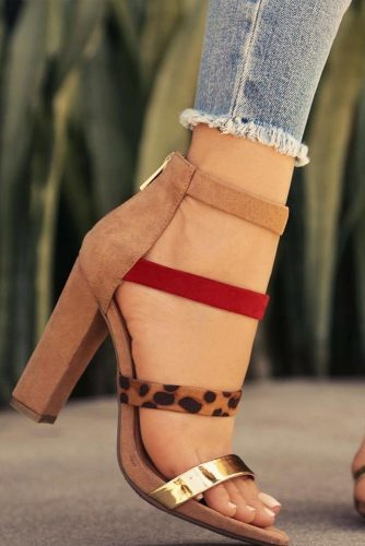 Trendy Strappy Heel Sandals picture 4