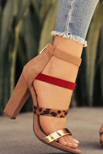 Trendy Strappy Heel Sandals picture 4