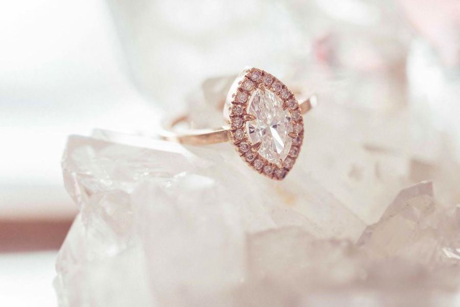 Beautiful Rose Gold Engagement Rings