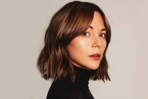 Ideas for Medium Length Hairstyles with Bangs