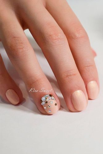 Sweety and Cute Wedding Nail Designs picture 3