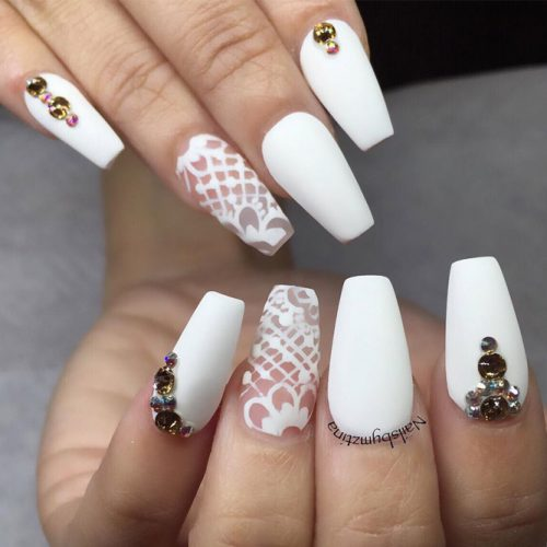 Beautiful Coffin Nail Ideas picture 6
