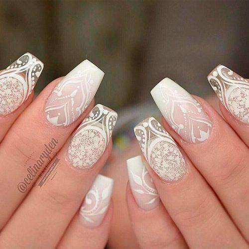 Enchanting Mandala Nail Design #mandalanailart #prettynails
