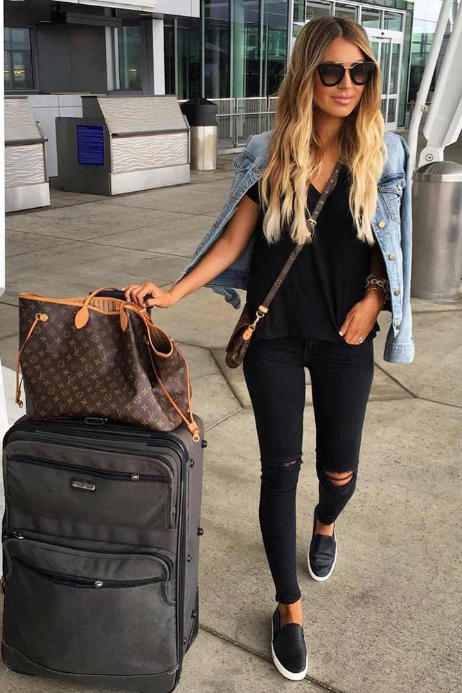 Stylish and Comfy Airport Outfits picture 4