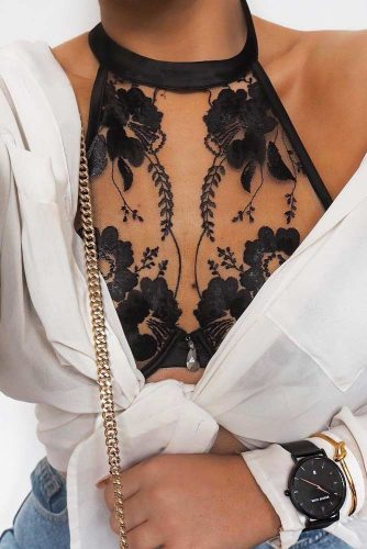 Hottest Black Lace Bralette Ideas picture 1