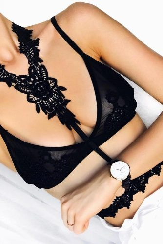 Black Bralette Ideas Every Babe Should to Try picture 5