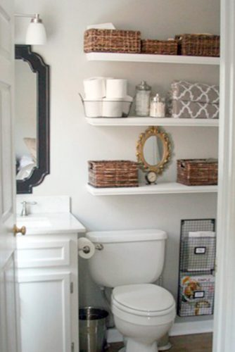Stylish and Useful Bathroom Decorating picture 2