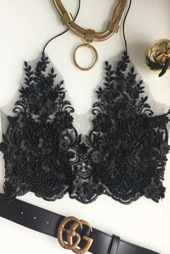 Sexy Black Lace Bralette Ideas picture 4