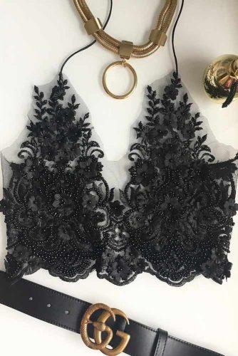 Sexy Black Lace Bralette Ideas picture 4