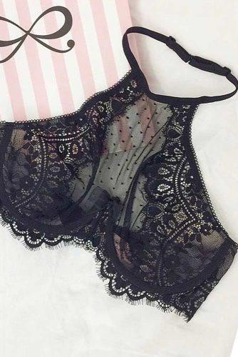 Sexy Black Lace Bralette Ideas picture 5