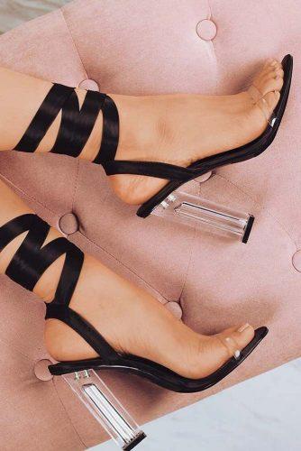 Cute Black Heels Designs picture 4