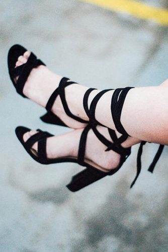 Cute Black Heels Designs picture 5