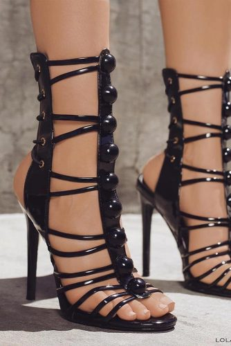Sexy Strappy High Heels picture 5