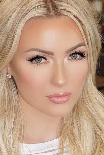 Full Makeup Looks for Girls with Blonde Eyebrows picture 1
