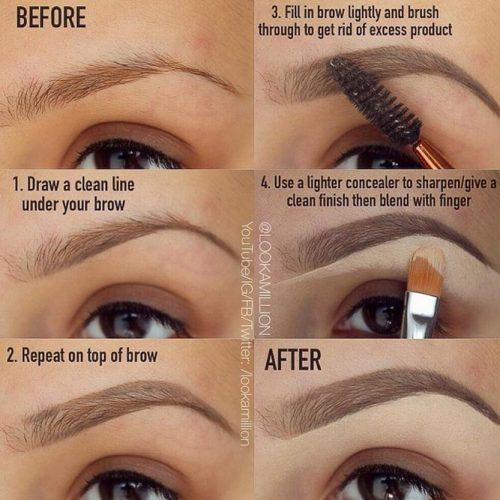 How to Get Perfect Eyebrows in a Simple Way picture 2