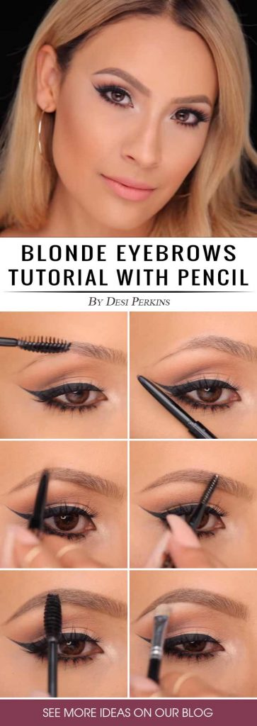 New Eyebrow Tutorial with Pencil