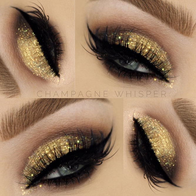 Golden Glitter Glam