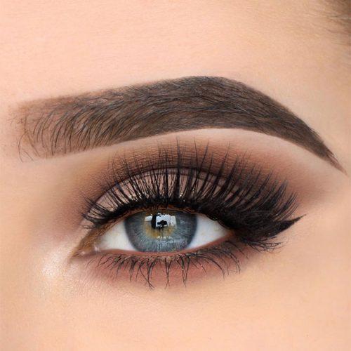 Soft Black Smokey Eyes