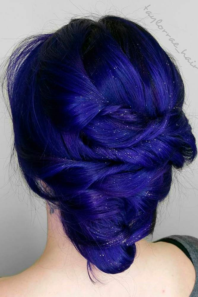 Fairy Indigo Hair
