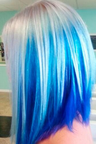 Baby Blue and Bombshell Blonde