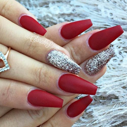 Stunning Red Nails Ideas picture 1