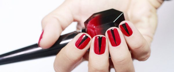 24 Chic Red Nail Designs to Say
