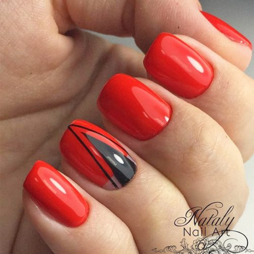 Stunning Red Nails Ideas picture 4