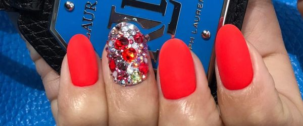 30 Chic Red Nail Designs to Say