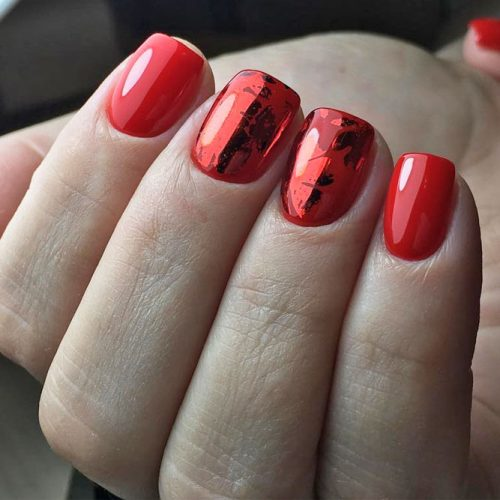 The Hottest Red Nail Designs picture 1