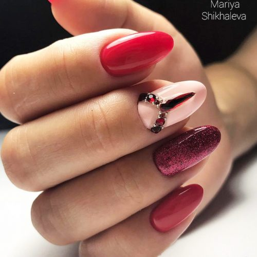 Stunning Red Nails Ideas picture 2