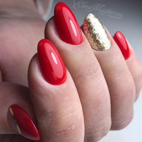 Stunning Red Nails Ideas picture 6