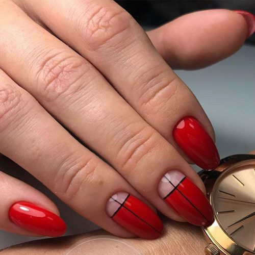 Stunning Red Nails Ideas picture 3