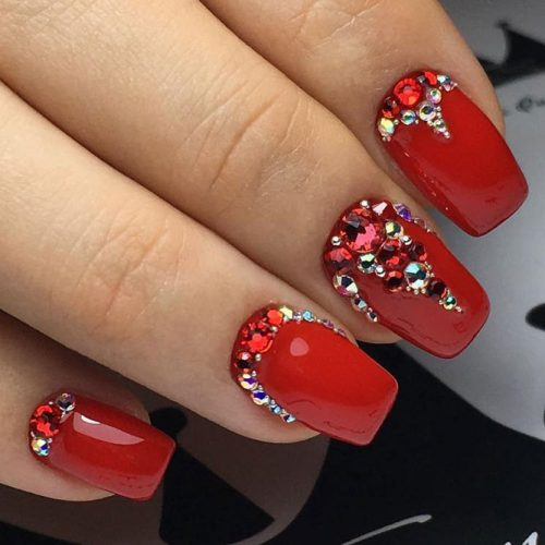 Cool Nail Designs in Red Color picture 3