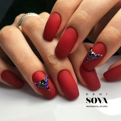 Cool Nail Designs in Red Color picture 4