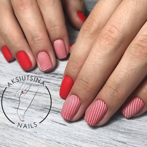 Pretty Nail Designs in Red Color picture 5