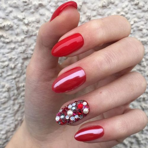 The Hottest Red Nail Designs picture 4