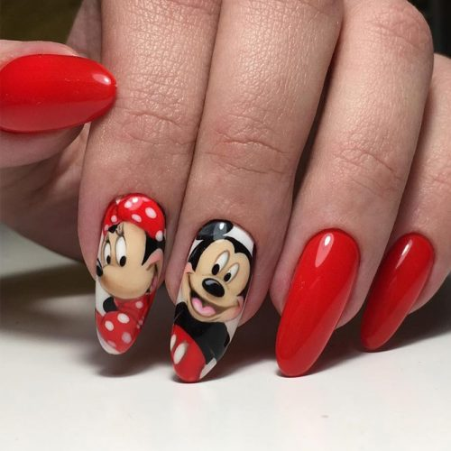 Perfect Red Nail Art Ideas picture 1