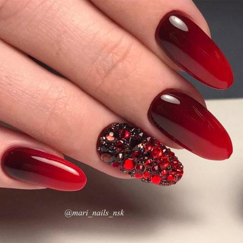 The Hottest Red Nail Designs picture 5