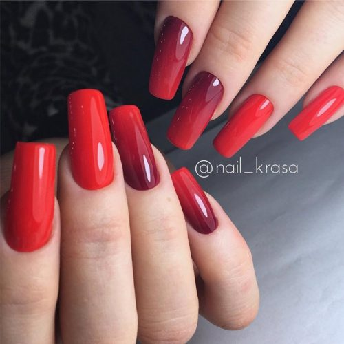Perfect Red Nail Art Ideas picture 2