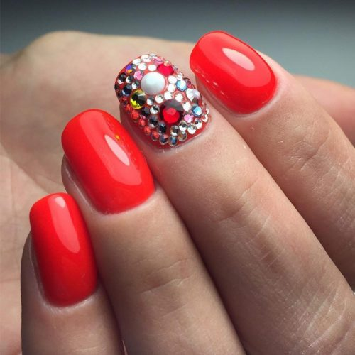 The Hottest Red Nail Designs picture 2