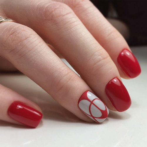 The Hottest Red Nail Designs picture 6