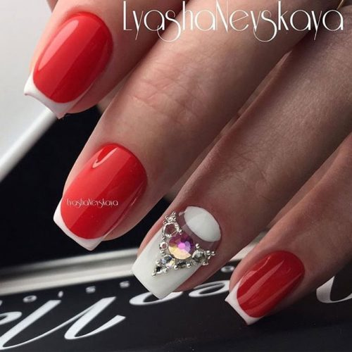 Perfect Red Nail Art Ideas picture 4