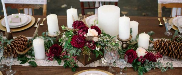 18 Romantic Ideas of Fall Wedding Centerpieces for Your Big Day
