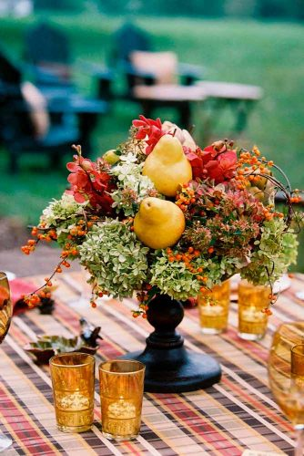 Stylish Fall Wedding Centerpieces picture 1