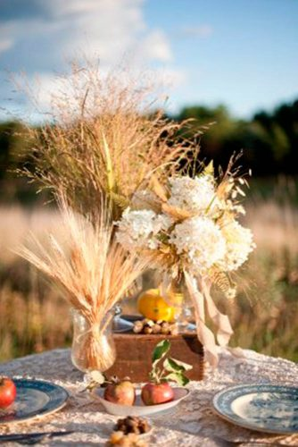 Stylish Fall Wedding Centerpieces picture 2