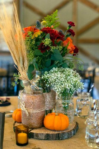 Amazing Fall Floral Design of Centerpieces picture 1